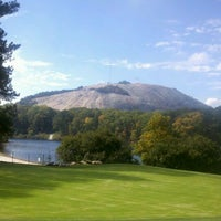 Photo taken at Stone Mountain Park by Paul T. on 10/18/2011