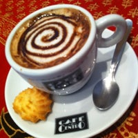 Photo taken at Bangkok Cafe by Vanessa N. on 4/29/2012
