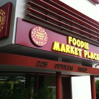 Photo taken at Foodie Market Place by Don Q. on 11/6/2011
