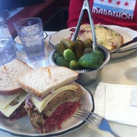 Photo taken at Bloom's Delicatessen by Damian L. on 3/4/2012