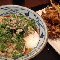 Photo taken at Marugame Seimen by Yuho K. on 5/18/2012