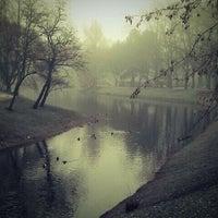 Photo taken at Kronvalda parks by Oskars K. on 12/22/2011