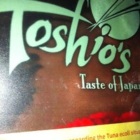 Photo taken at Toshio's Taste of Japan by Kaydee F. on 7/15/2012