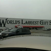 Photo taken at World's Largest Gift Shop by Amy M. on 11/21/2011