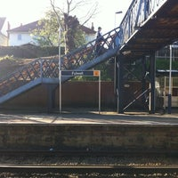 Photo taken at Fulwell Railway Station (FLW) by Matthew P. on 4/12/2011