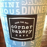Photo taken at Corner Bakery by Annie C. on 9/3/2011