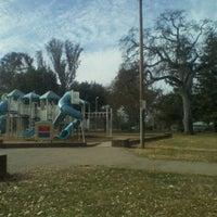 Photo taken at Carmichael Park by Alexandrea G. on 1/6/2012