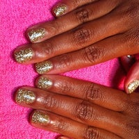Photo taken at Siditty Kitty Nail Boutique by tinesha m. on 8/11/2011