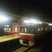 Photo taken at Uraga Station (KK64) by hironofutat on 1/10/2012