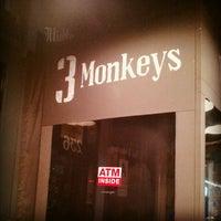 Photo taken at The Three Monkeys by Kerri N. on 9/1/2012