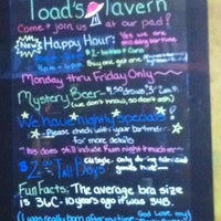 Photo taken at Toad's Tavern by Adam D. on 8/28/2011