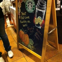 Photo taken at Starbucks by Jon G. on 9/23/2011