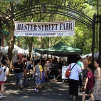 Photo taken at Hester Street Fair by Russell S. on 6/16/2012