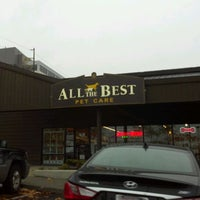 Photo taken at All The Best Pet Care by Kim G. on 11/12/2011