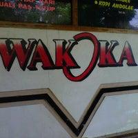 """Photo taken at Warkop """"WAKOKA"""" kopi cangkir GatheL by DevdanTravel T. on 7/7/2012"""