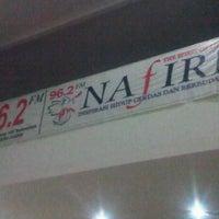 Photo taken at Nafiri 96.2 FM by Princess P. on 3/15/2012