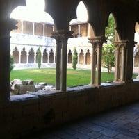 Photo taken at Facultat Lletres Universitat de Girona by Xavi F. on 7/18/2012