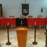 Photo taken at Templo da Serrinha by André Felipe A. on 3/11/2012
