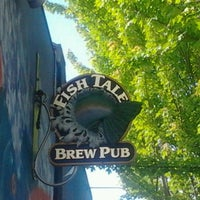 Photo taken at Fish Tale Brew Pub by eddie p. on 7/4/2011