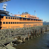 Photo taken at Staten Island Ferry - St. George Terminal by Brian E. on 11/5/2011