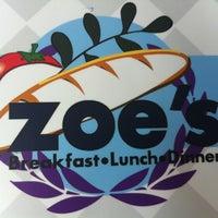 Photo taken at Zoe's Kitchen by Sara B. on 8/17/2012