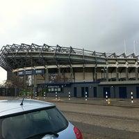 Foto tirada no(a) Murrayfield Stadium por More_Fool_Me em 2/14/2011