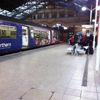 Photo taken at Manchester Victoria Railway Station (MCV) by Dave S. on 1/17/2012