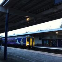 Das Foto wurde bei Barrow-in-Furness Railway Station (BIF) von Mark N. am 4/11/2012 aufgenommen