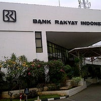 Photo taken at Bank BRI Cabang Bekasi by Randy R. on 9/26/2011
