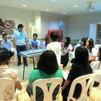 Photo taken at TU Chorus Club by Misskaew S. on 8/9/2011