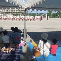 Photo taken at 栗東市立大宝小学校 by Minoru O. on 9/22/2011