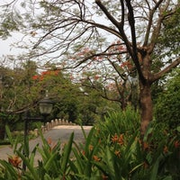 Photo taken at Queen Sirikit Park by Icing C. on 4/2/2012