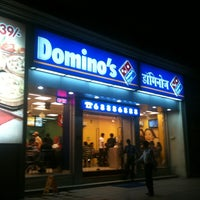 Photo taken at Domino's Pizza by Vinod M. on 4/1/2012
