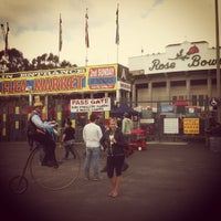 Photo taken at Rose Bowl Flea Market and Market Place by Thomas B. on 2/12/2012