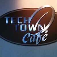 Photo taken at TechTown Cafe by BlockRockin E. on 6/11/2012