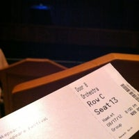 Photo taken at Decio Mainstage Theatre by Janee C. on 8/17/2012