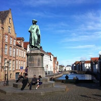 Photo taken at Jan Van Eyck Plein by Peter B. on 3/18/2012