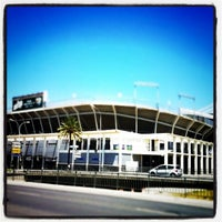 Photo taken at Estadio La Rosaleda by Señor M. on 7/8/2011