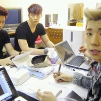 Photo taken at JYP Entertainment by Aungsuma I. on 7/11/2011