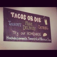 Photo taken at OMG Taco by Tanya M. on 1/24/2012