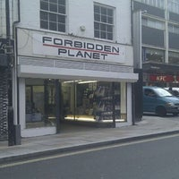 Photo taken at Forbidden Planet by Michael A. on 5/18/2011