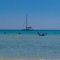 Photo taken at Platja de Ses Covetes by Frasquito F. on 6/27/2011