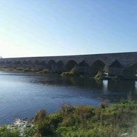 Photo taken at Pont de Beaugency by Damien R. on 10/15/2011