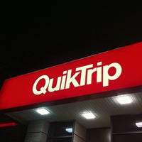 Photo taken at QuikTrip by Eric Z. on 1/8/2011