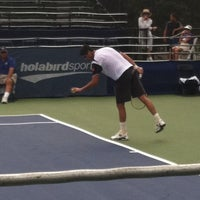 Photo taken at Rock Creek Tennis Center by deidra s. on 7/28/2012