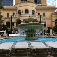 Photo taken at The Pool At Bellagio by Tommy T. on 9/10/2011