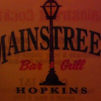 Photo taken at Mainstreet Bar & Grill by Pat F. on 9/2/2011