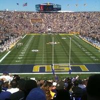 Photo taken at Tiger Stadium by Fernando B. on 10/1/2011