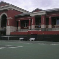 Photo taken at Halton-Wagner Tennis Complex by Brian K. on 1/23/2012
