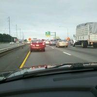 Photo taken at Delaware Expressway by Honey B. on 9/8/2011